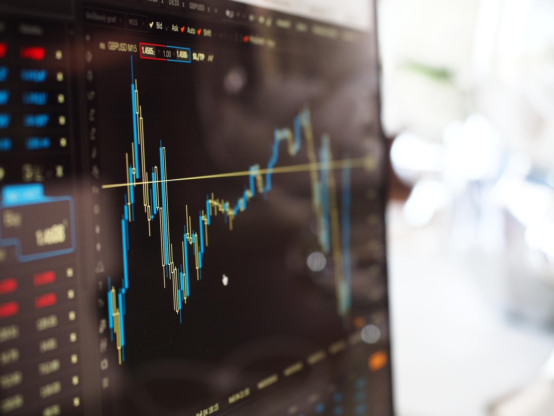 金融知識を学ぶ【株価チャートの見方を簡単解説】